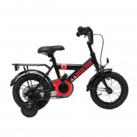 "BIKE FUN FIETS 12"" JONGENS HIGH RISK ZWART 12HIGH20 ***BESTELBAAR***"