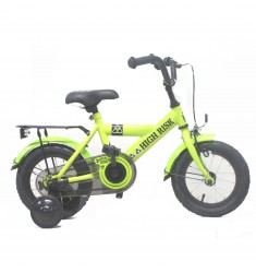"BIKE FUN FIETS 12"" JONGENS HIGH RISK GROEN 12HIGH10 ***BESTELBAAR***"