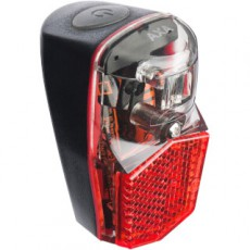 LED ACHTERLICHT AXA RUN COMPACT OP SPATBORD MET BATT BLISTER