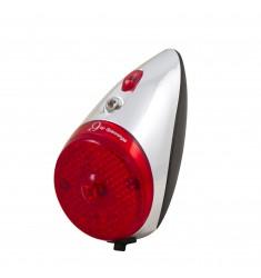 LED ACHTERLICHT SPANNINGA RETRO 9 XB OP SPATB. MET BATT. BLISTER