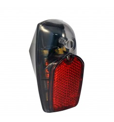 LED ACHTERLICHT UNION OP SPATBORD MET BATT. BULK RVS 4307-SM