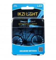 LED WIELLICHT IKZI MET 22 LEDS WIT VOOR 1 WIEL