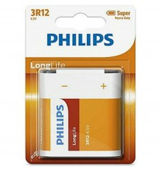 BATTERIJ PHILIPS 3R12 PLAT BLIS 4.5VOLT