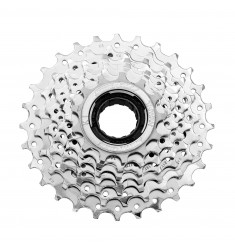 FREEWHEEL 7V 13/28 CHROOM SA/SUNRACE