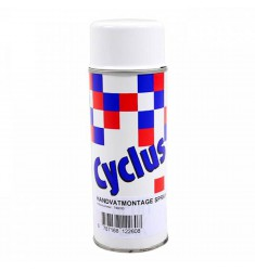 HANDVATTEN MONTAGE SPRAY CYCLUS 400ML