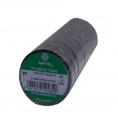 ACC.DIV. ISOLATIE ROL PLASTIC TAPE 10 M. ZWART A 10 ROL