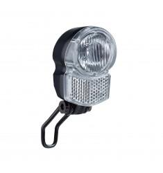 LED VOORLICHT KOPLAMP B&R  UNI LED PRO  1 LED NAAFDYNAMO 25 LUX