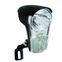 LED VOORLICHT KOPLAMP B&R UNI LED 1 LED NAAFDYNAMO 15 LUX