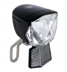 LED VOORLICHT KOPLAMP B&R SECU FORTE 1 LED NAAFDYN. AUTOMAAT / STANDLICHT ++ 70 LUX ++