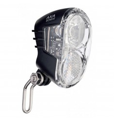 LED VOORLICHT KOPLAMP AXA ECHO 30  NAAFDYNAMO A/U BLISTER