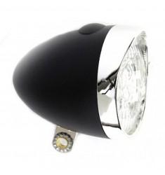 LED VOORLICHT KOPLAMP CATCH-IT 3 LED BAT. ZWART