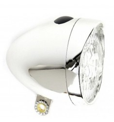 LED VOORLICHT KOPLAMP CATCH-IT 3 LED BAT. CHROOM