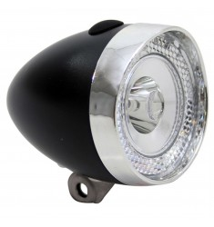 LED VOORLICHT KOPLAMP UNION 1 LED MINI ZWART BAT.