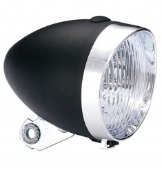 LED VOORLICHT KOPLAMP UNION 3 LEDS ZWART BAT.