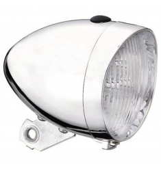 LED VOORLICHT KOPLAMP UNION 3 LEDS CHROOM BAT.