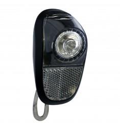 LED VOORLICHT KOPLAMP UNION MOBILE 1 LED MOD. GALAXI 4966 NAAFDYN. ZWART/ZWART