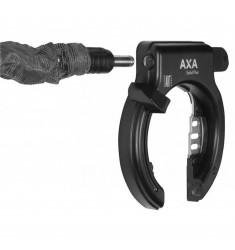 SLOT RING AXA SOLID++ PLUS++ ZWART ZONDER GAATJE