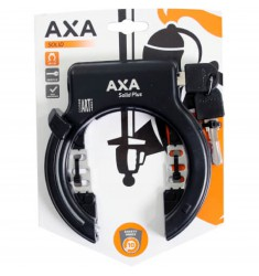 SLOT RING AXA SOLID++ PLUS++ ZWART ZONDER GAATJE OP KRT