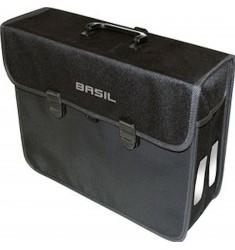 TAS ENKEL BASIL 17019 MALAGA XL 17 L. ZWART