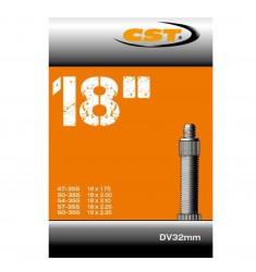 BINNENBANDEN 18X1.75/2.35 CST BLITZ VENTIEL 32MM = 47/60-355 DV 32MM 070512