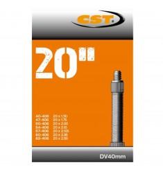 BINNENBANDEN 20X1.50-1.75-2.50 CST BLITZ VENTIEL 40MM = 40/62-406 DV 40MM 070702