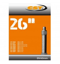 BINNENBANDEN 26X1 3/8 - 1.75 CST BLITZ VENTIEL 40MM = 32/47-559/597 DV 40MM 071202