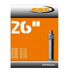 BINNENBANDEN 26X1.50-1.75-2.50 CST BLITZ VENTIEL 40MM = 40/62-559 DV 40MM 071302