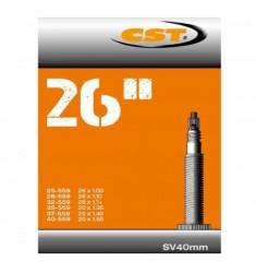 BINNENBANDEN 26X1.50-1.75-2.50 CST FRANS VENTIEL 40MM = 40/62-559 SV 40MM 071304