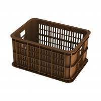 MAND VOOR / KRAT KUNSTST. BASIL CRATE S SADDLE BROWN INH. 25 L.