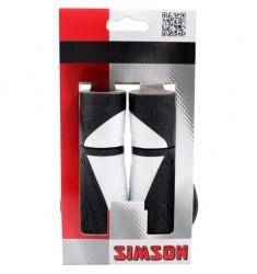 SIMSON BLISTER 020456 HANDVATTEN ERGONOMICS ZWART/WIT