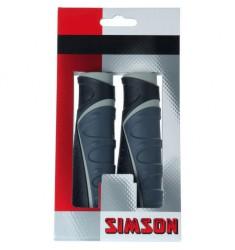 SIMSON BLISTER 020471 HANDVATTEN COMFORT TYPE GAZELLE ZWART/GRIJS