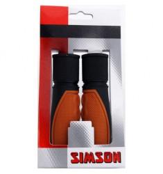 SIMSON BLISTER 021454 HANDVATTEN LIFESTYLE LICHTBRUIN/ZWART