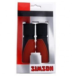 SIMSON BLISTER 021455 HANDVATTEN LIFESTYLE MIDDENBRUIN/ZWART
