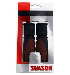 SIMSON BLISTER 021456 HANDVATTEN LIFESTYLE DONKERBRUIN/ZWART
