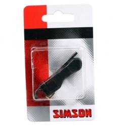 SIMSON BLISTER 020812 TORPEDO BEVESTIGINGSMATERIAAL