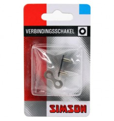 """SIMSON BLISTER 020880 VERBINDINGSSCHAKEL NORMAAL 1/2""""x 1/8"""""""