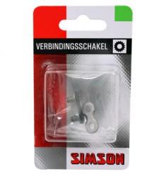 """SIMSON BLISTER VERBINDINGSSCHAKEL NEXUS 1/2"""" x 3/32"""" 3/5/7/8 SPEED"""