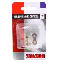 "SIMSON BLISTER 020888 VERBINDINGSSCHAKEL 1/2"" x 3/32"" 7/8 SPEED"