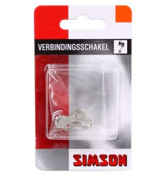 "SIMSON BLISTER 020889 VERBINDINGSSCHAKEL 1/2""x 5/64"" 9 SPEED"