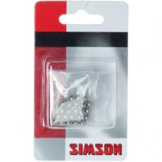"""SIMSON BLISTER 020910 KOGELS 3/16"""" 24 STUKS"""