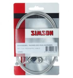 SIMSON BLISTER 020963 BINNENKABEL TROMMELREM UNI, TON/PEER + INBUS RVS