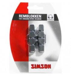 SIMSON BLISTER 020208 REMBLOKKEN MAGURA HYDRAULISCHE VELGREM (HS33/HS11)
