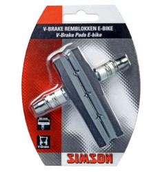 SIMSON BLISTER 020209 REMBLOKKEN E-BIKE V-BRAKE 80MM
