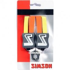 SIMSON BLISTER 021347 SNELBINDER KORT, 3 BINDER, ORANJE/GEEL