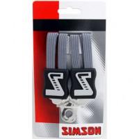 SIMSON BLISTER 021362 SNELBINDER, 3 BINDER, ANTRACIET