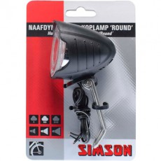 SIMSON BLISTER 022004 NAAFDYNAMO LED KOPLAMP ROUND 7 LUX
